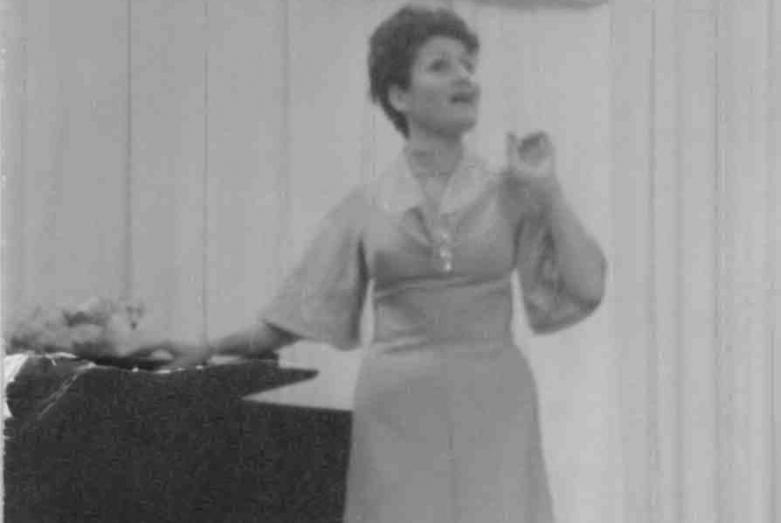 Людмила Логуа ,творческий вечер украинских композиторов