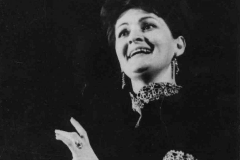 Людмила Логуа ,1968 год