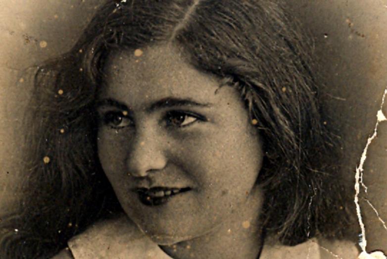 Адиле 16 лет, 1936-й год.